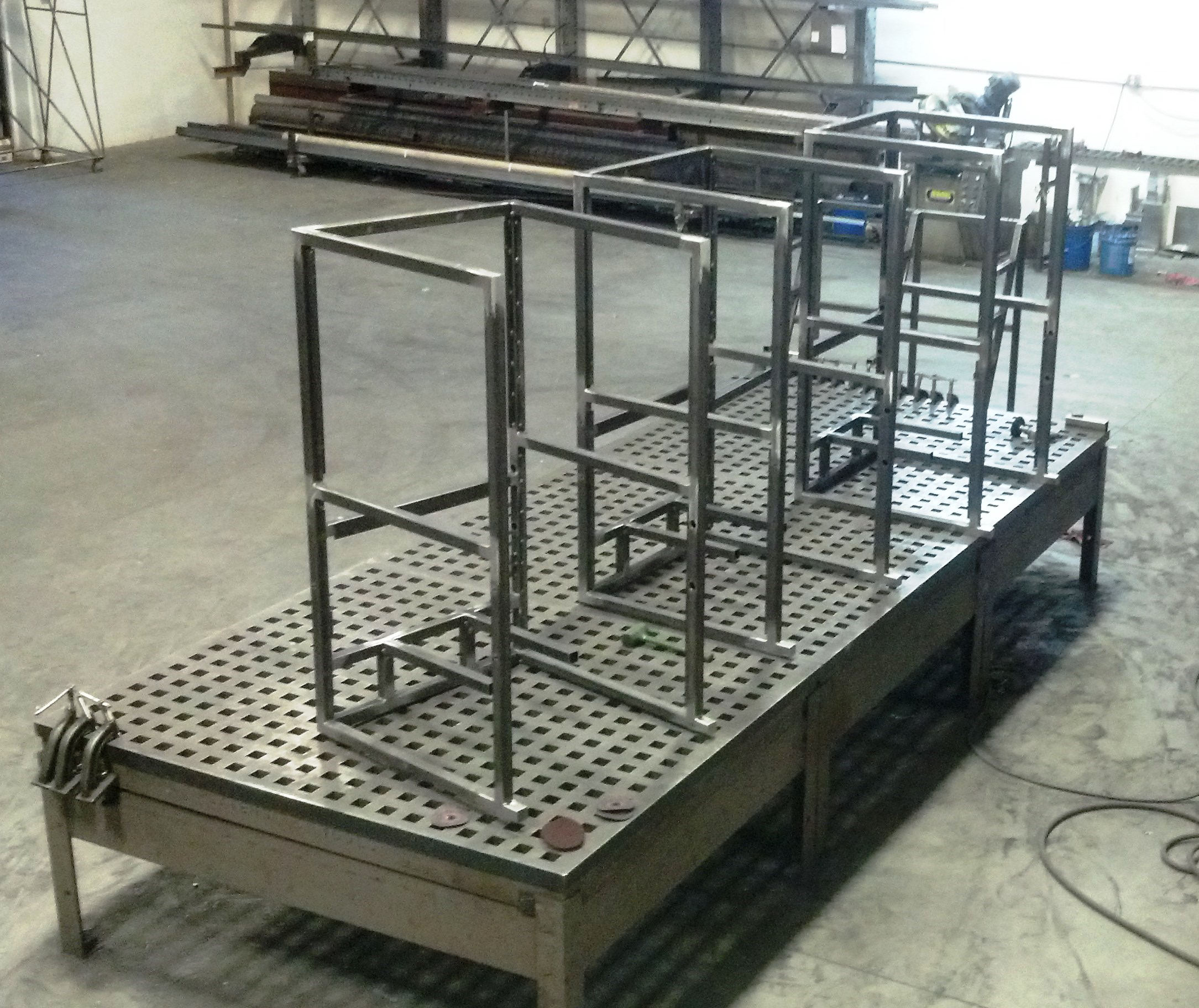 Abm fabrication for Fabrication stand